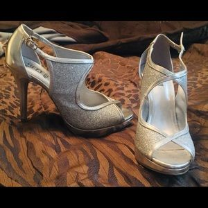 Beautiful pageant shoes only worn once